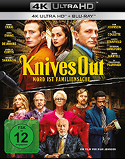 Knives Out - Mord ist Familiensache Plakat