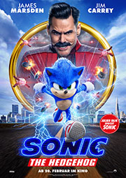 Sonic The Hedgehog Kino Plakat
