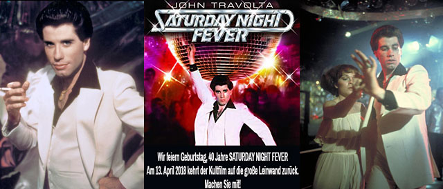40 Jahre Saturday Night Fever