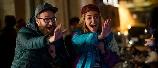 "Seth Rogen kann mehr in ""Long Shot"""