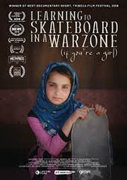 Learning to Skateboard in A Warzone Plakat