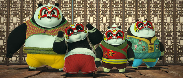 Kung Fu Panda im Disney Channel